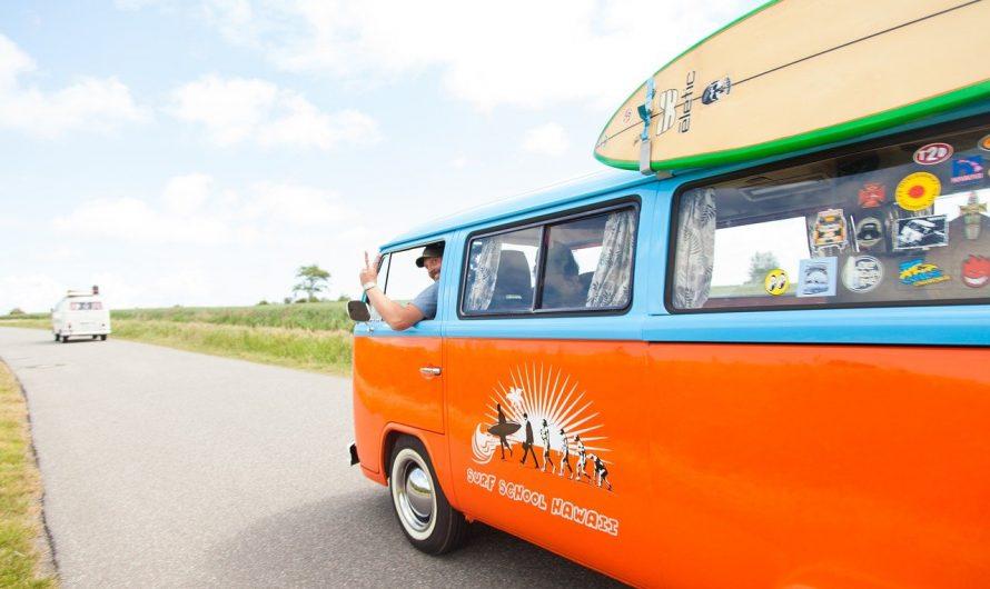 Des vacances camping au bord de la plage: quelle destination choisir??